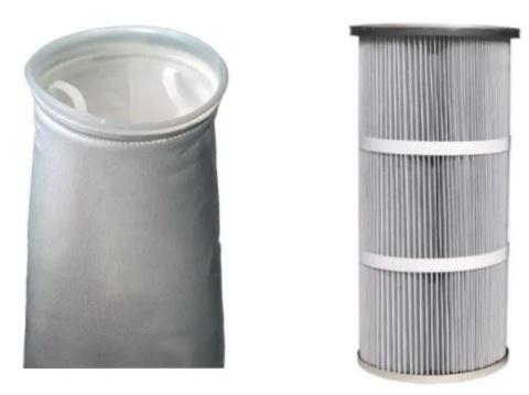 Manica filtrante cartuccia filtrante